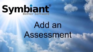 Add an assessment on Symbiant