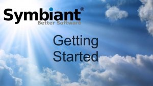 Getting started with Symbiant